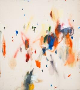 Charlotte Warsen, glühn und schnüre, 150x135cm, oil and lacquer on canvas