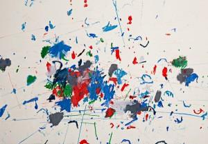 Charlotte Warsen, untitled, 40x60cm, oil crayon on paper
